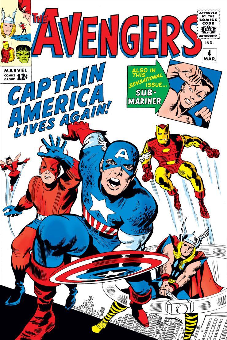 01/10 The Avengers: Captain America Lives Again!