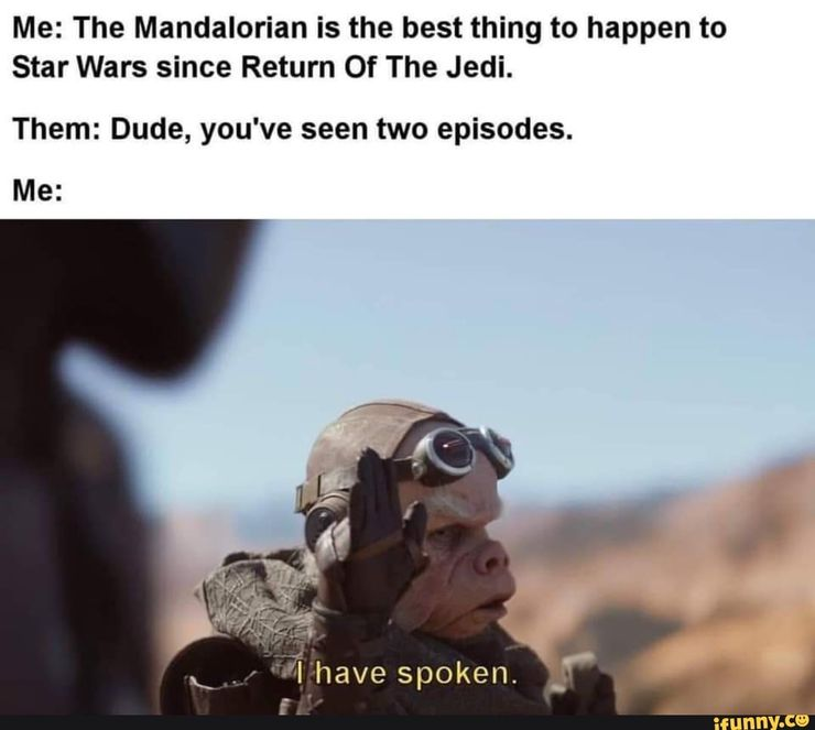 04/10 The reality of Mandalorian