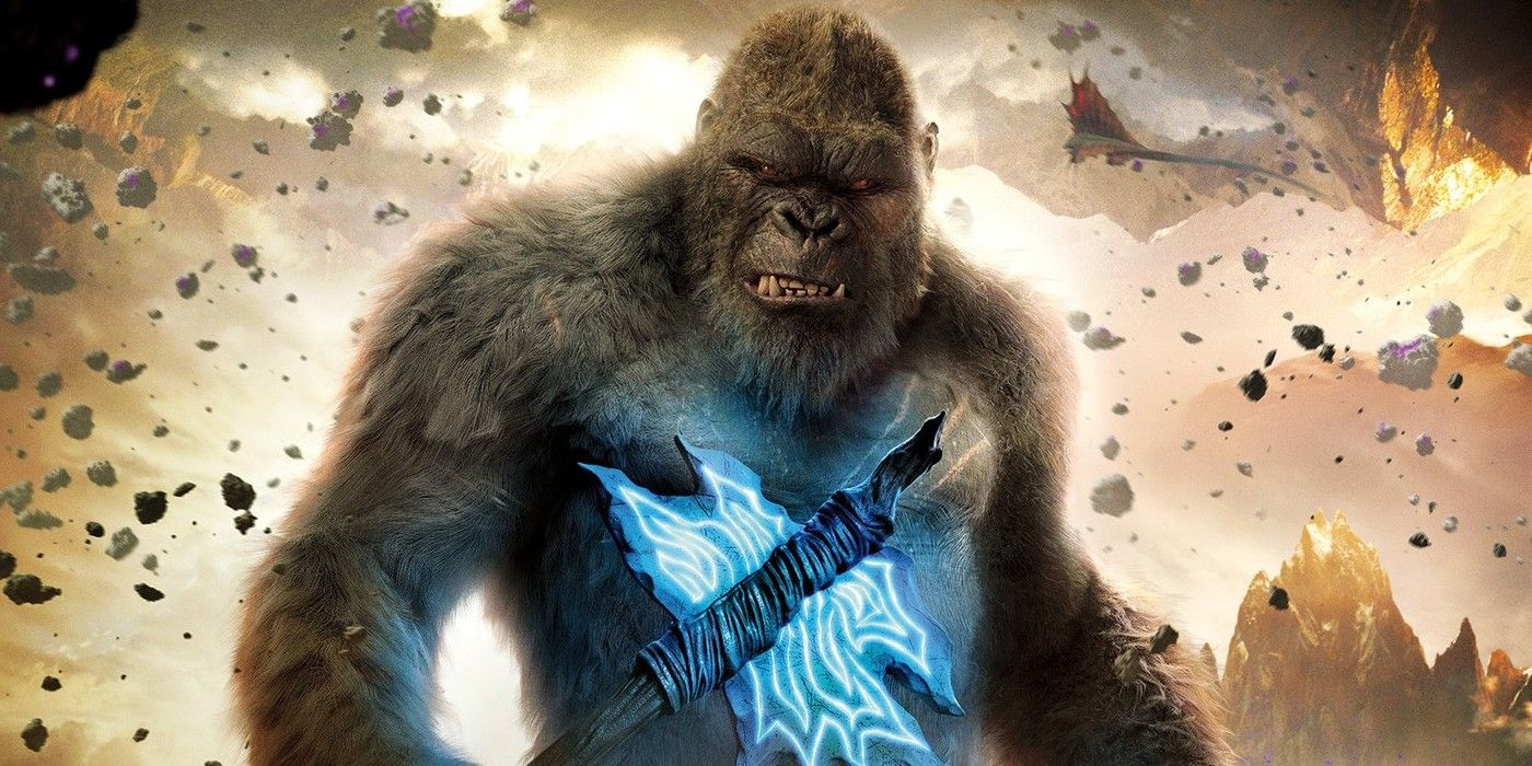Kong Rages Against His Hi-Tech Prison in New Godzilla vs. Kong Promo