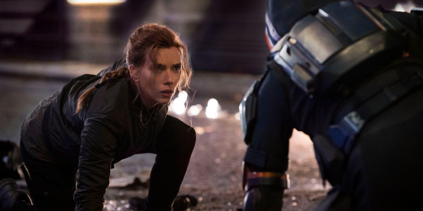 Black Widow Stills Show Taskmaster and Superspies in Action | CBR