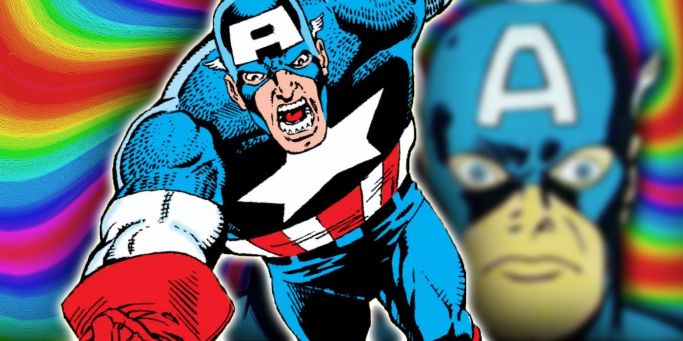 Captain America Once Spent an Entire Summer... On Drugs?! | CBR