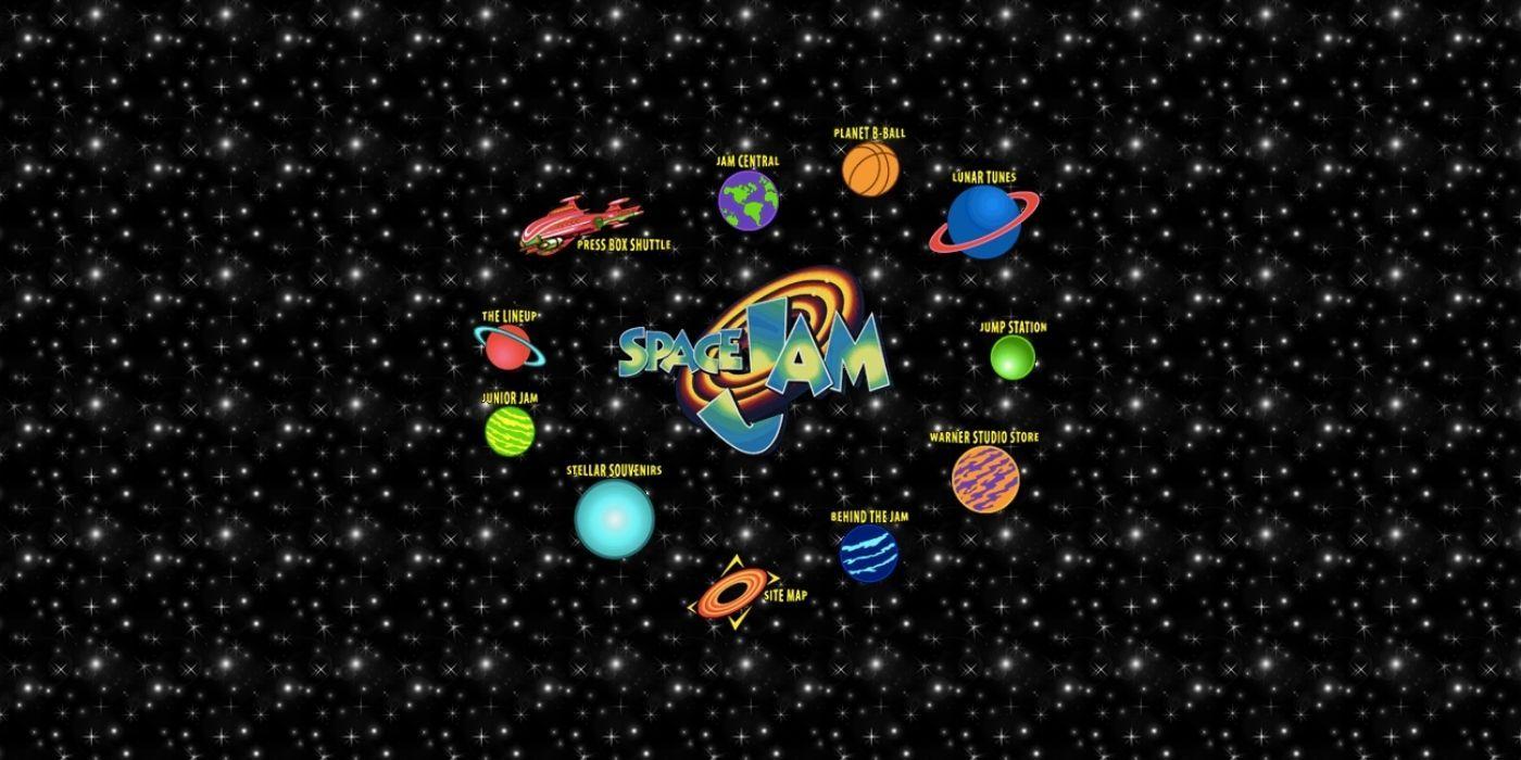Space Jam's Legendary Original Website Gets Its First Update