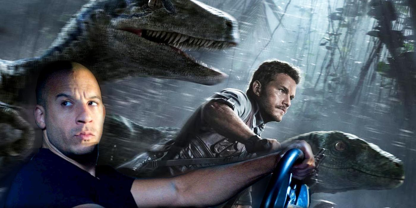 A Fast & Furious/Jurassic Park Crossover Is Apparently Possible