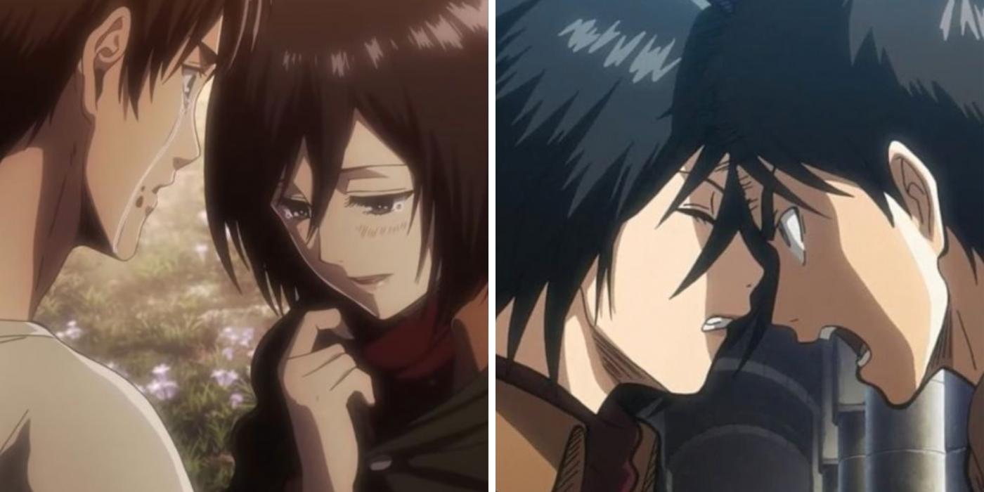 Attack On Titan: 10 Times Mikasa Proved She Loves Eren | CBR