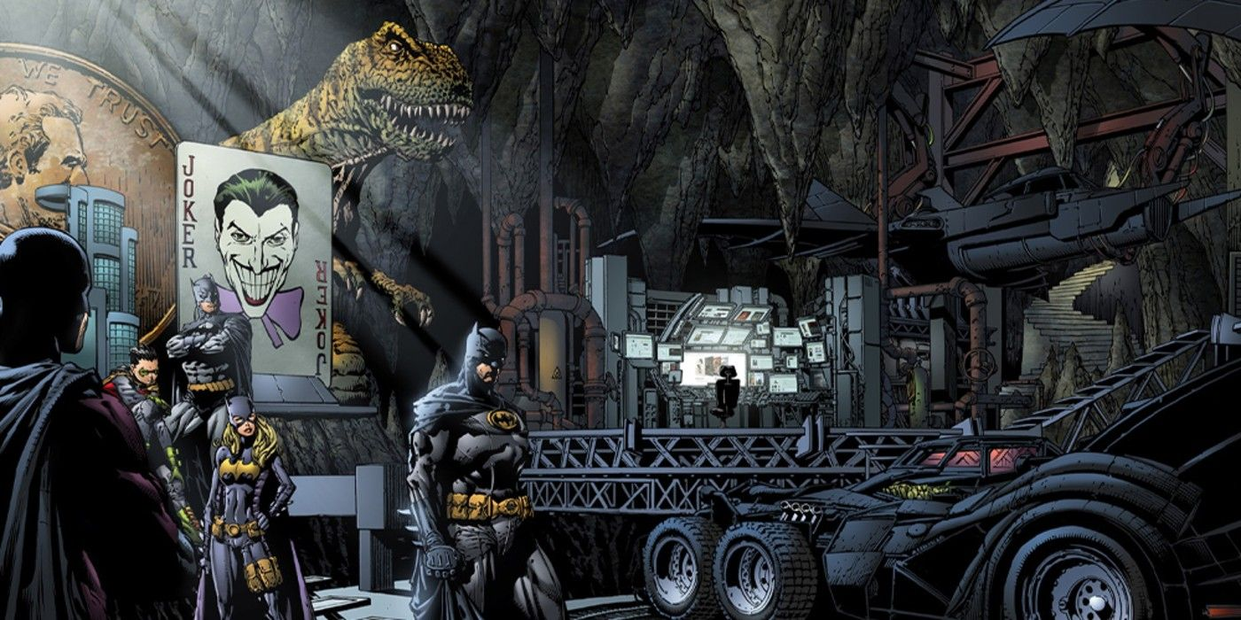 Batman Officially Reveals His Batcave's New Name | CBR