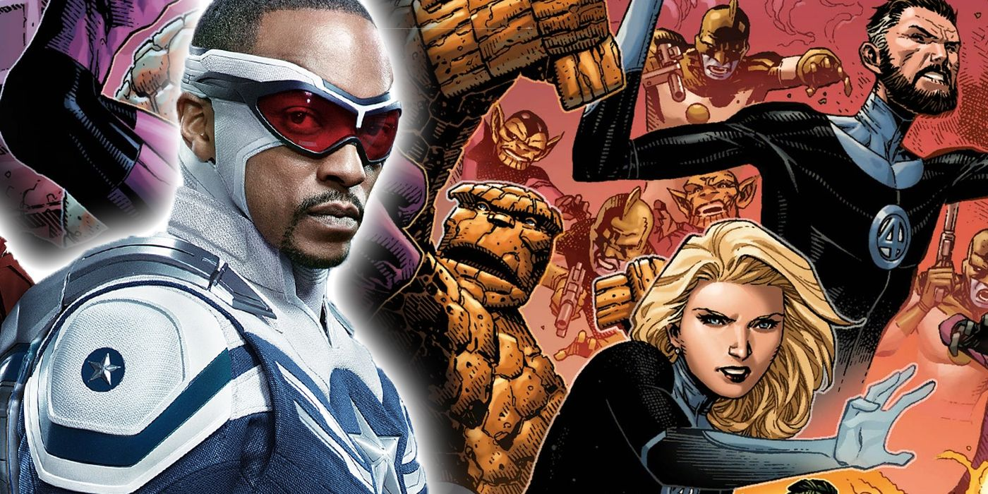 The Fantastic Four Just Took Down Marvel's Original Flag-Smashers
