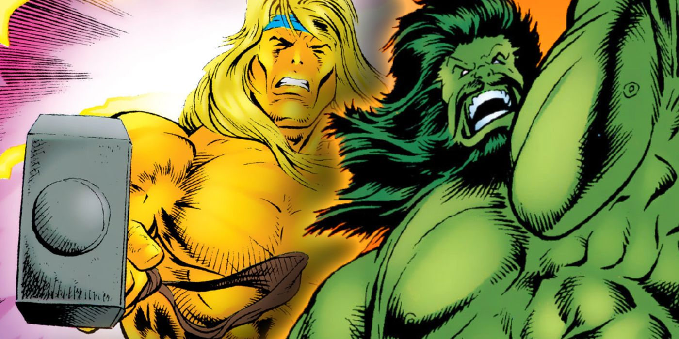 Hulk and Thor's Most Brutal Fight Should Have Been Impossible