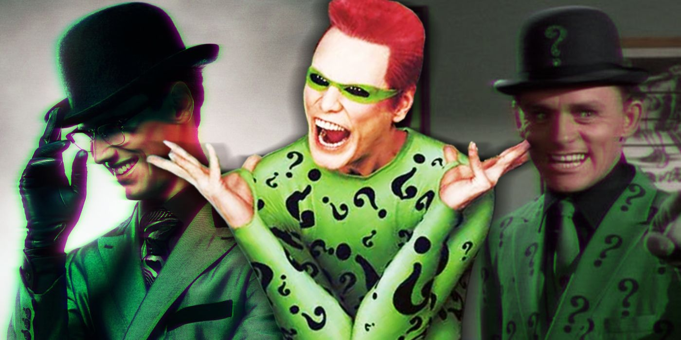 Riddler: Every Live-Action Version of the Batman Villain, Ranked
