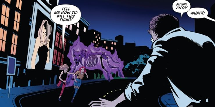 MangaYeh: Buffy the Vampire Slayer Teases Multiverse With a Surprising Villain Behind It