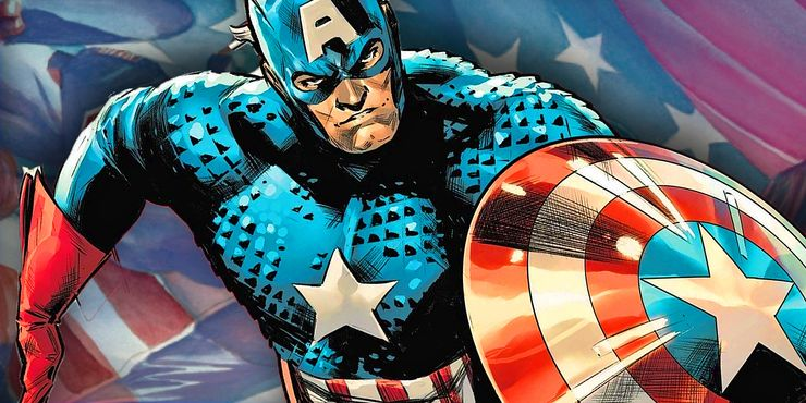 Captain America symbolizes liberty, being the most inspiring hero ever in the Marvel Universe.