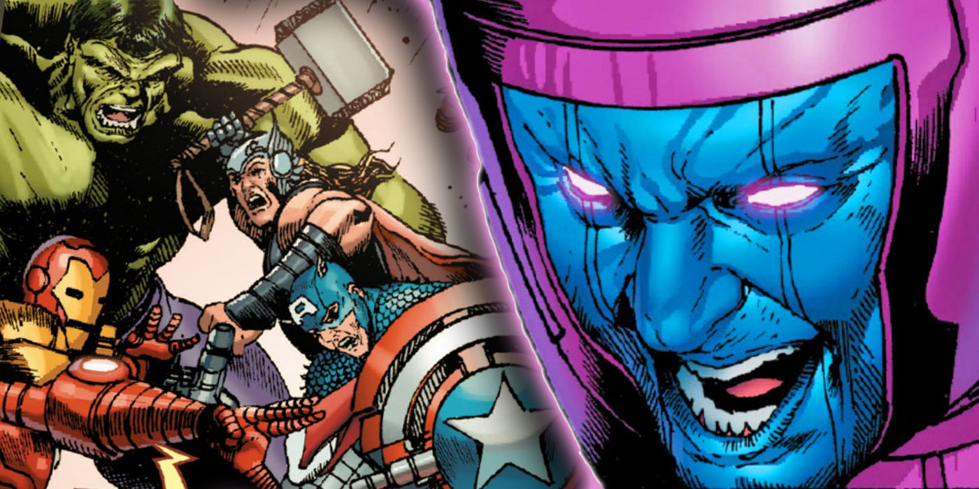 Kang the Conqueror Unleashed Marvel's Most Monstrous Avengers Variants