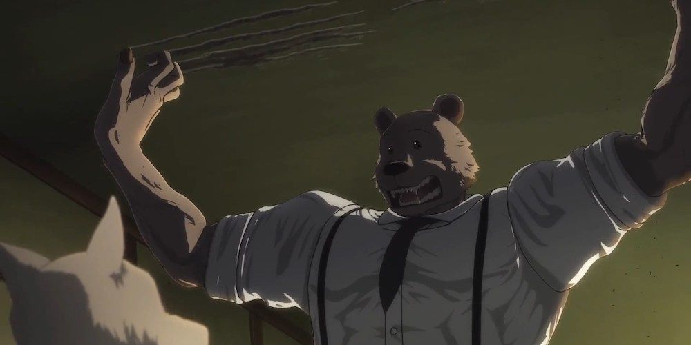 Beastars finalmente resolve seu trágico mistério do assassinato de Tem 1