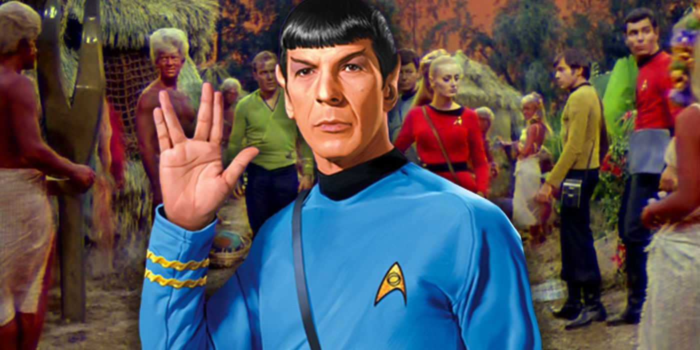 Star Trek Made Fun of Spock's Biggest Controversy in the Perfect Way