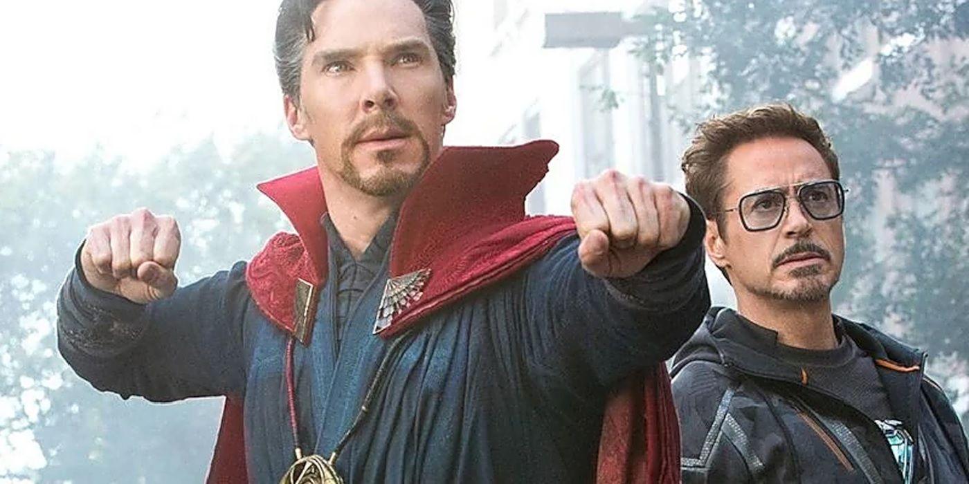 Benedict Cumberbatch improvisou uma das frases de Vingadores mais icônicas do Doutor Estranho