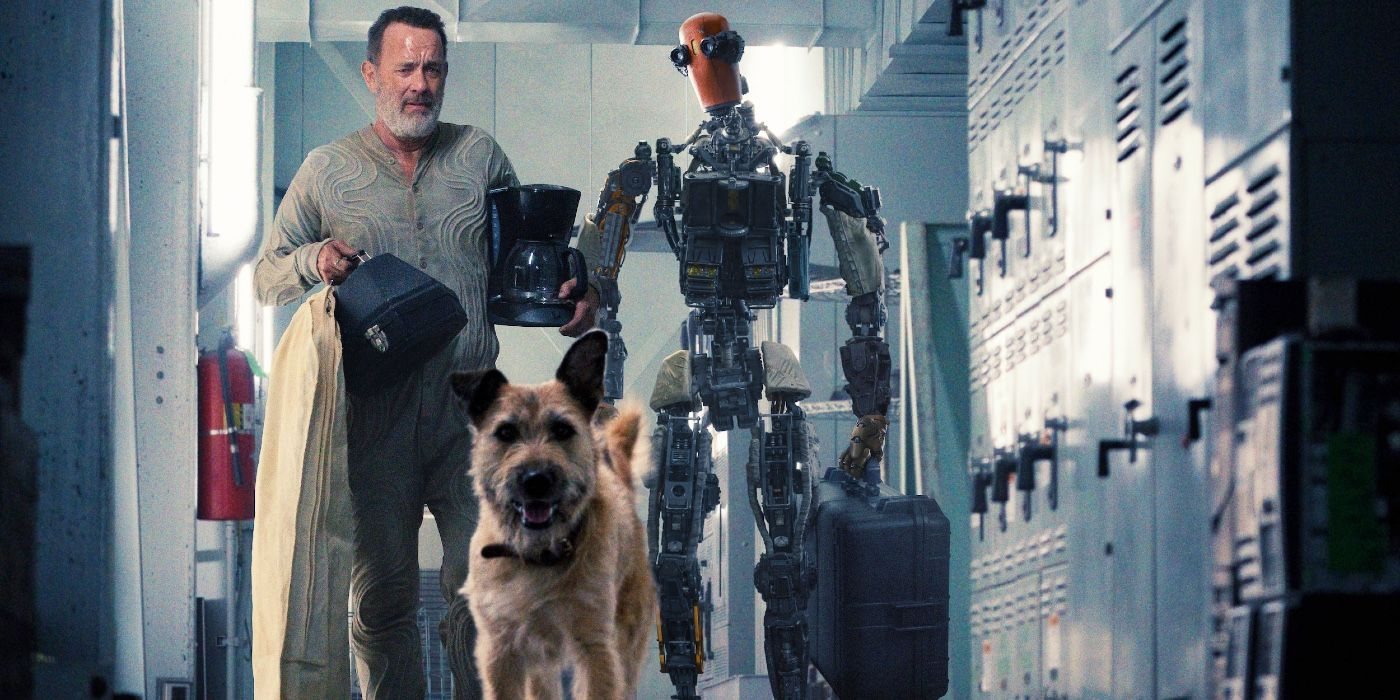 Tom Hanks Takes a Sci-Fi Road Trip With a Dog and Robot in Finch Trailer