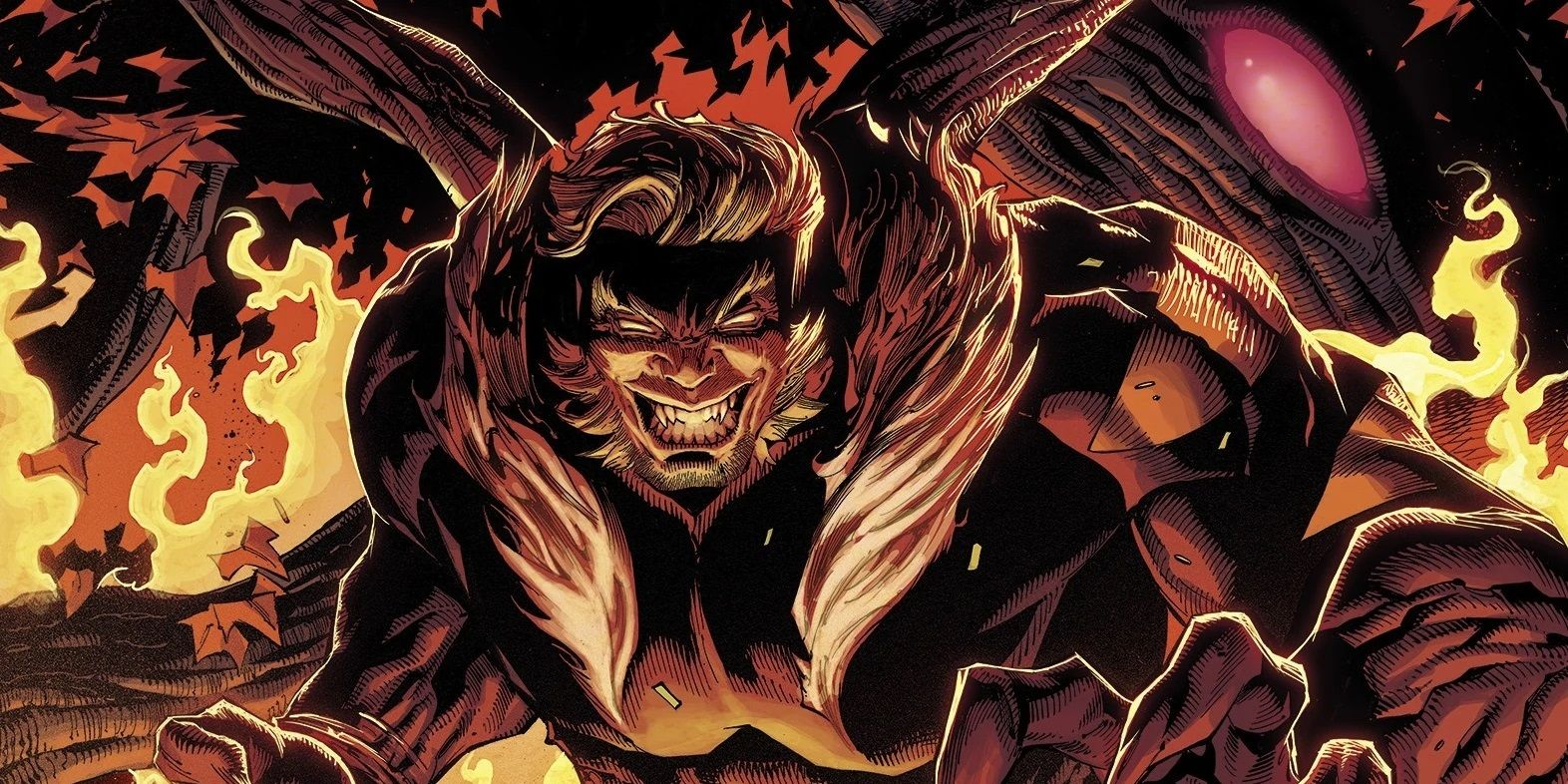 Marvel Unleashes Wolverine Enemy Sabretooth in a Solo Series