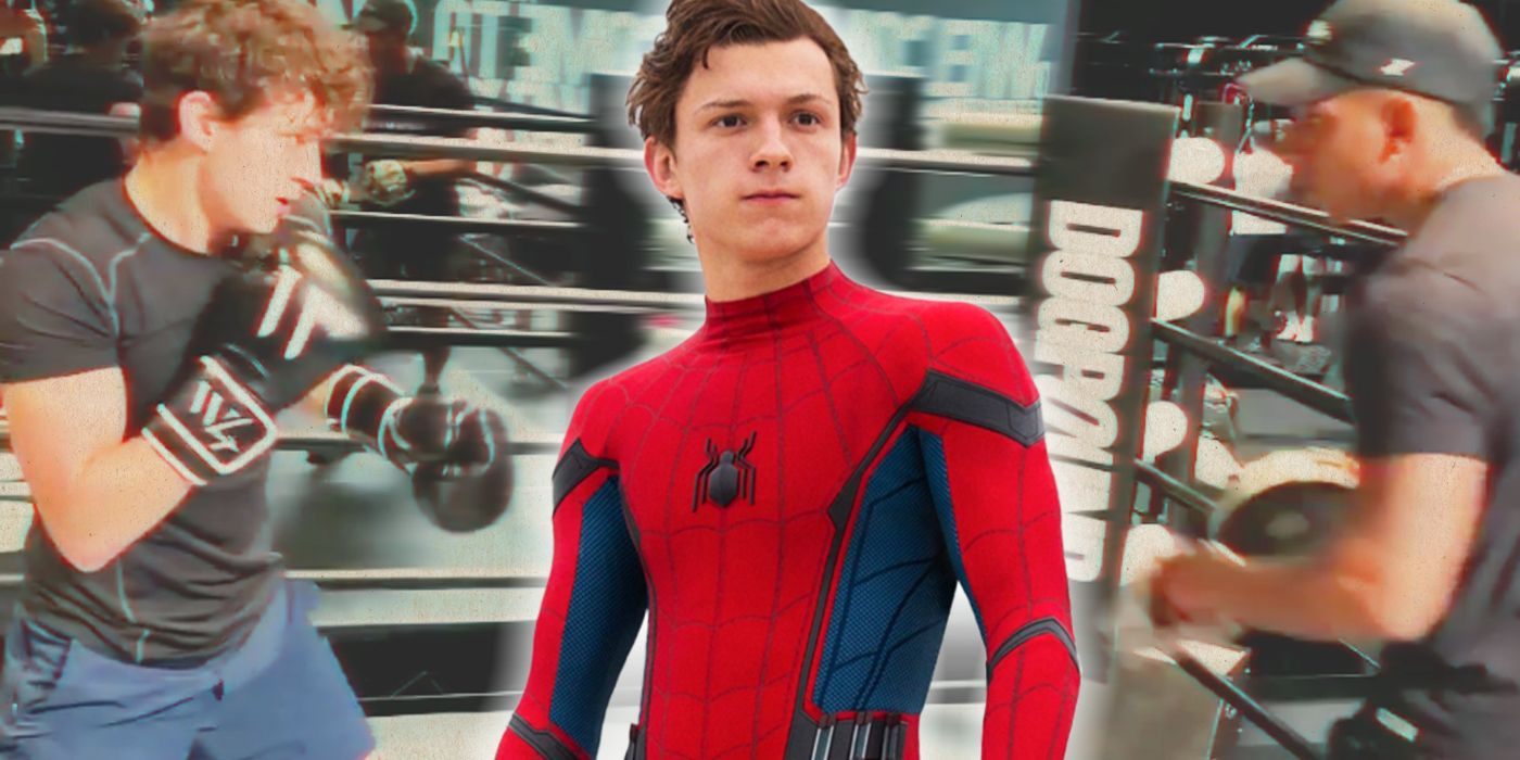 Spider-Man: No Way Home's Tom Holland Shows Off His Impressive Boxing Skills