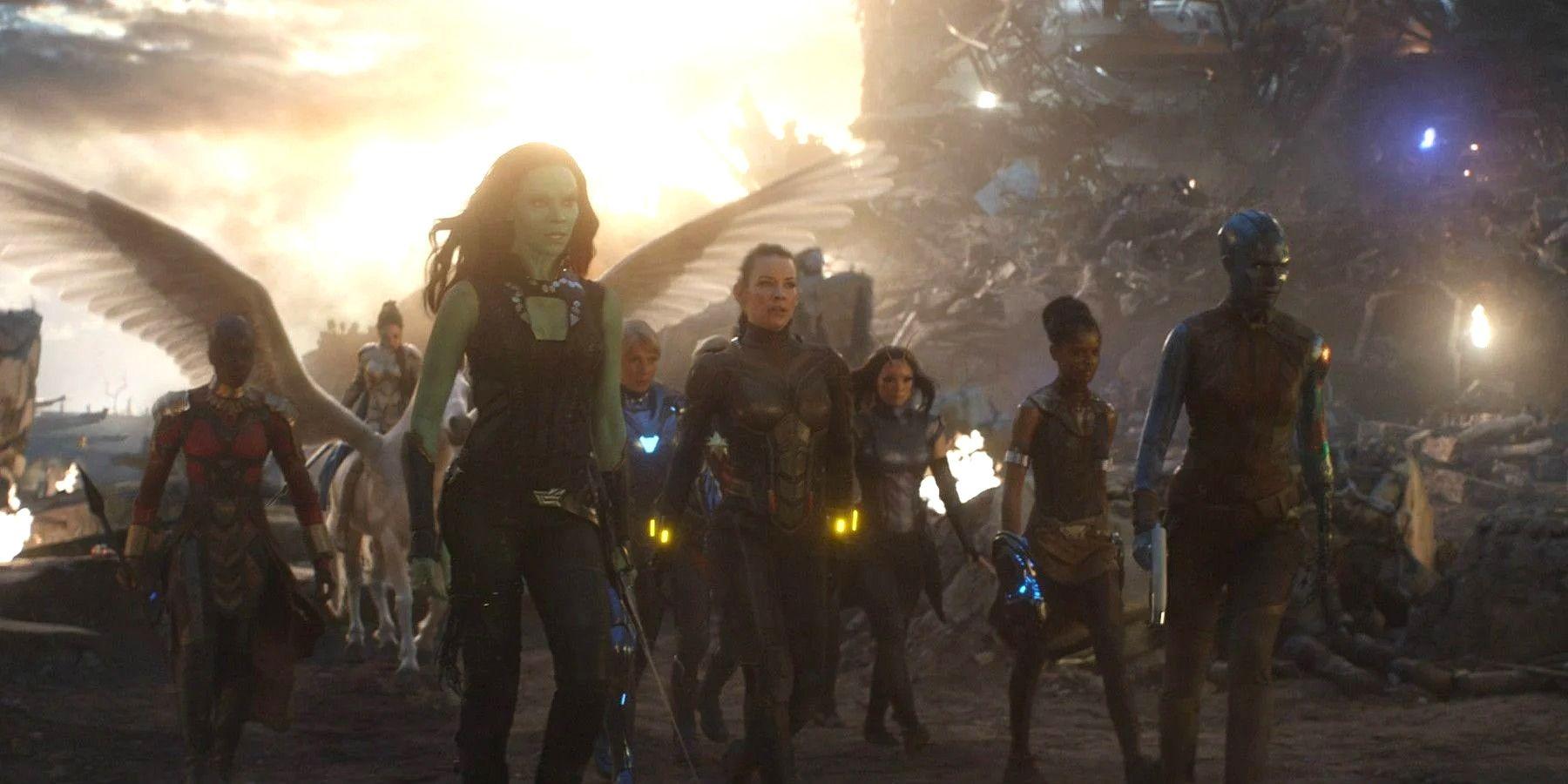 Marvel Re-Shot Avengers: Endgame's All-Female Scene Over 'Pandering' Fears