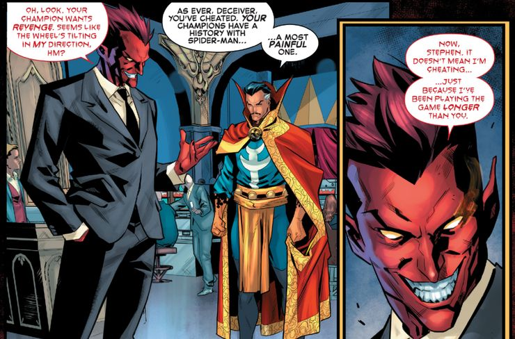 Mephisto is back in Marvel