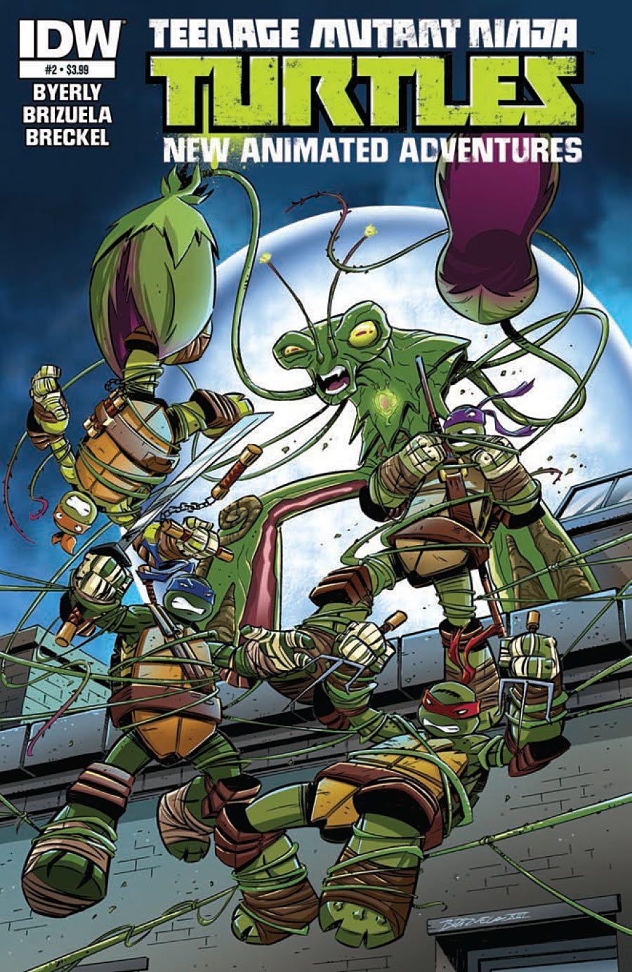 Teenage Mutant Ninja Turtles New Animated Adventures #2 | CBR