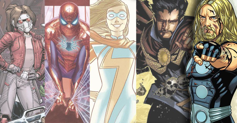 All New All Different Marvel Arrives In Marvels Complete October